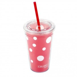 VASO POLKA DOTS 473ML