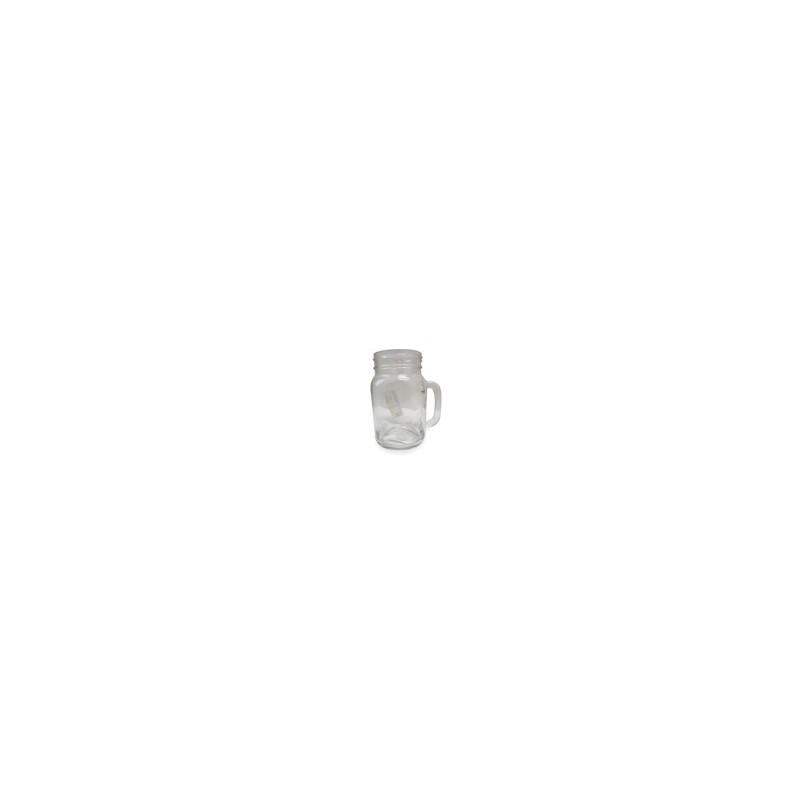 TARRO MASON JAR S/TAPA 400 ML. MOD 1403 (36) - Envío Gratuito