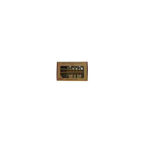 SET 24 CUBIERTOS AC INOX MADRID MOD. 054-024-026 (12) - Envío Gratuito