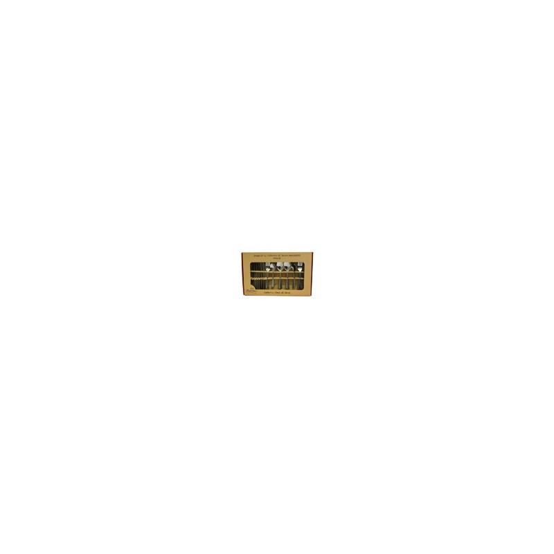 SET 24 CUBIERTOS AC INOX OVIEDO MOD. 054-024-022 (12) - Envío Gratuito