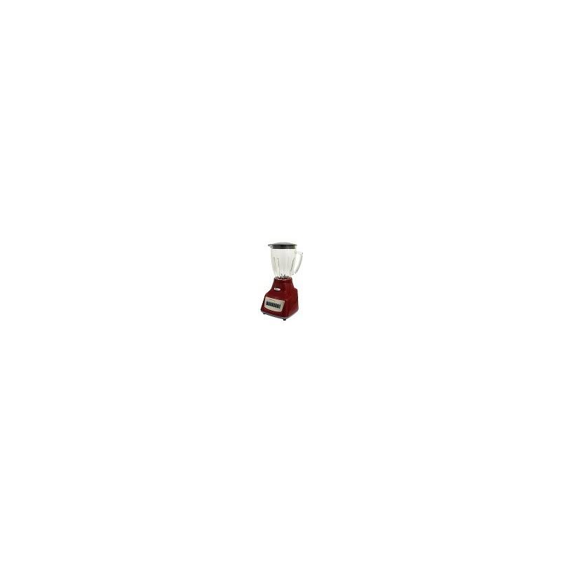 LICUADORA 7 VEL GRIS/ROJO V/VIDRIO (M91205300) - Envío Gratuito