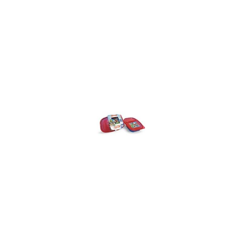 RECIPIENTE 2 DIVISIONES AVENGERS 750 ML. MOD. 82131 - Envío Gratuito