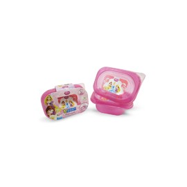 RECIPIENTE RECTANGULAR PRINCESAS 280 ML. MOD. 82048