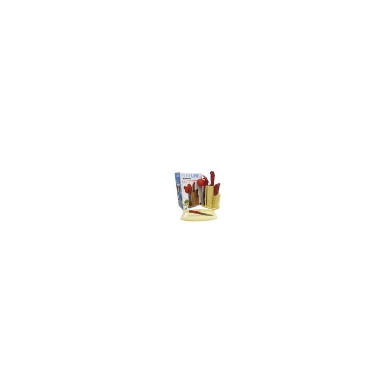 CARRUCEL DE UTENSILIOS ROJO MOD. PLCKS- 100R - Envío Gratuito