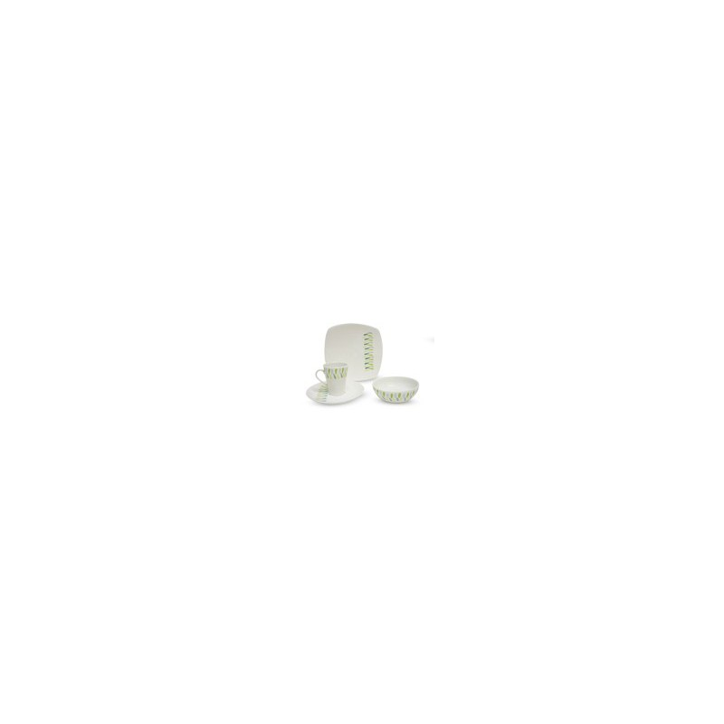 VAJILLA 16 PZAS MARA MUG MOD. VL111C040116 - Envío Gratuito